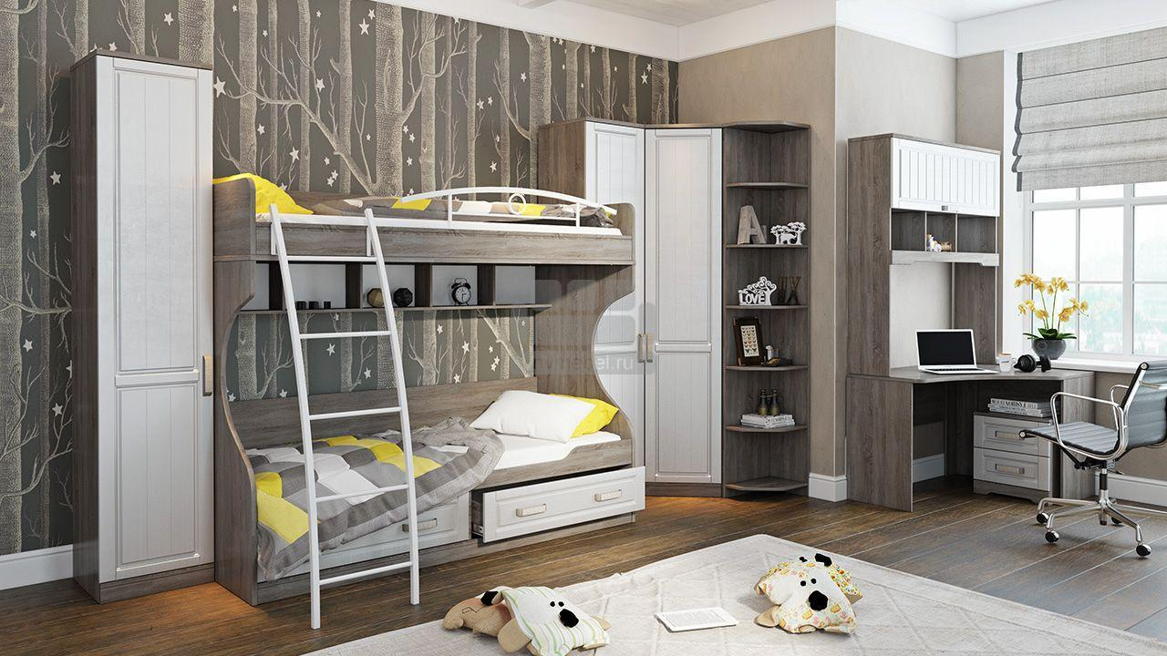 Набор мебели для детской комнаты «Прованс» №9